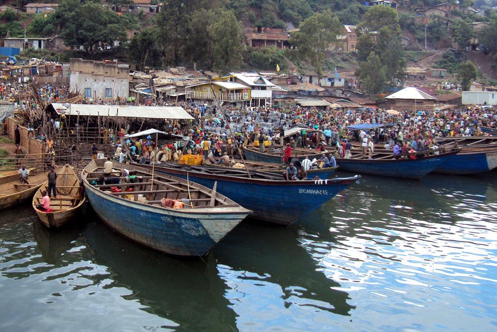 Bukavu port