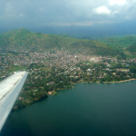 The city of Goma on the shores of Lake Kivu