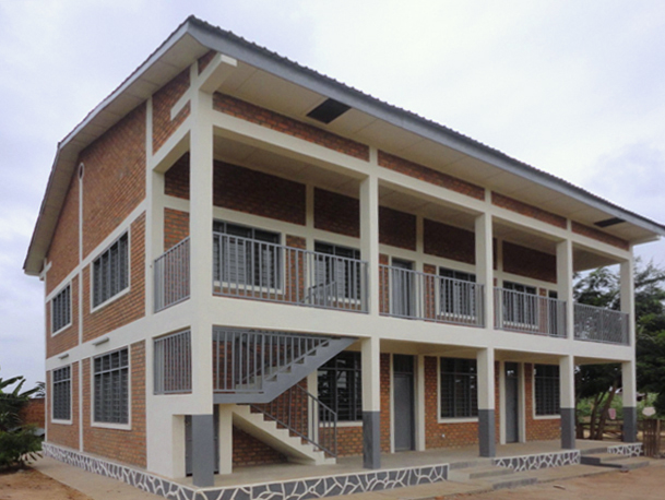 Kindu Bible School - completed Academic Building