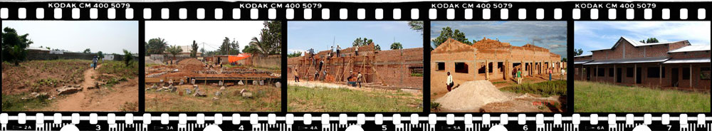 Mbuji-Mayi Bible School construction progress