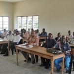 Kindu Bible School - Academic Building classroom