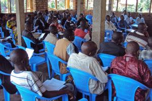 Bukavu Bible School Extension students