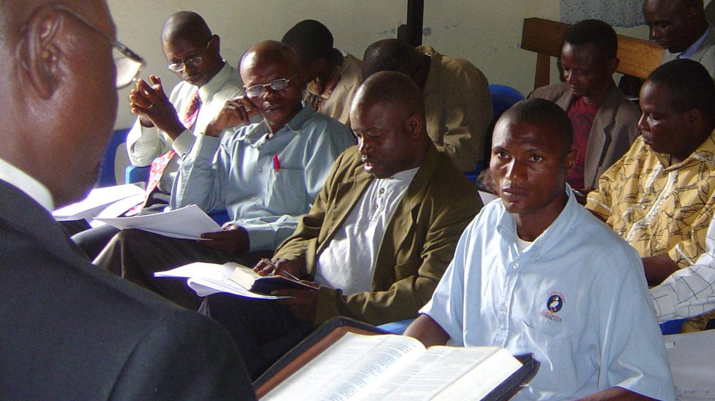 Mbandaka church leaders