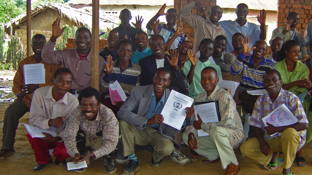 Kindu Bible School Extension students
