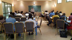 Lubumbashi classroom