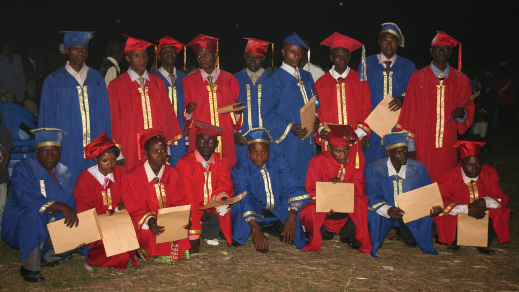Nioki Bible School graduates