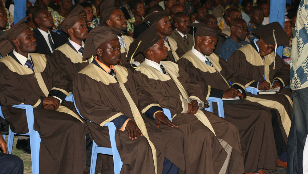 Kananga Bible School graduates
