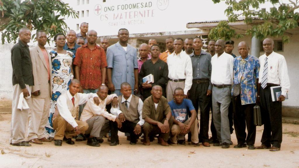 Kananga Bible School students