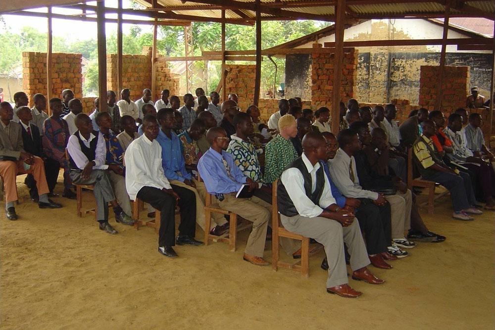 Kindu Bible School Extension students