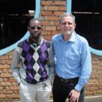 Joseph with Bill Shaw in Bukavu