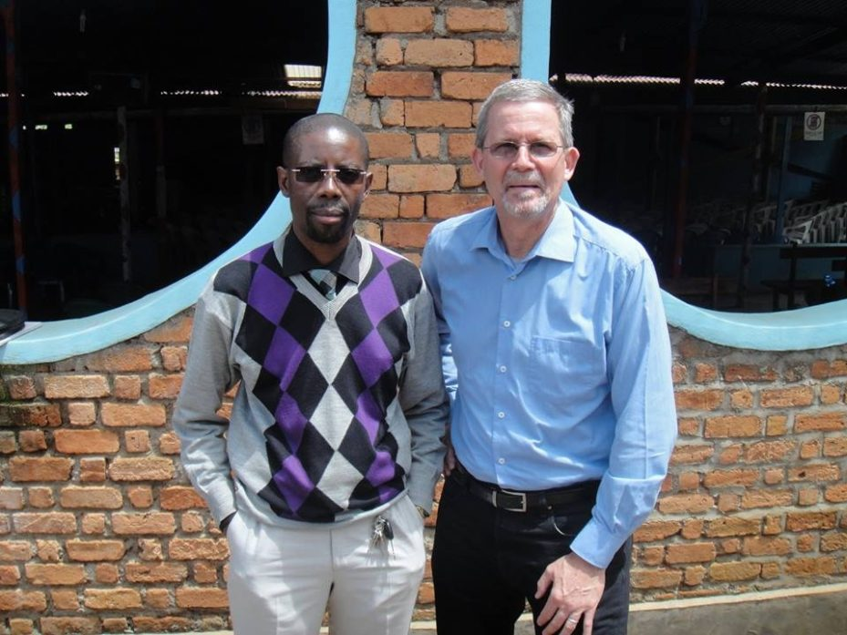 Joseph with Bill Shaw in Bukavu