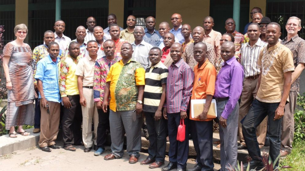 Bible school administration and professors
