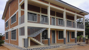 Kindu Bible School academic building
