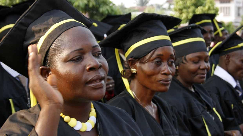 Mbandaka graduates