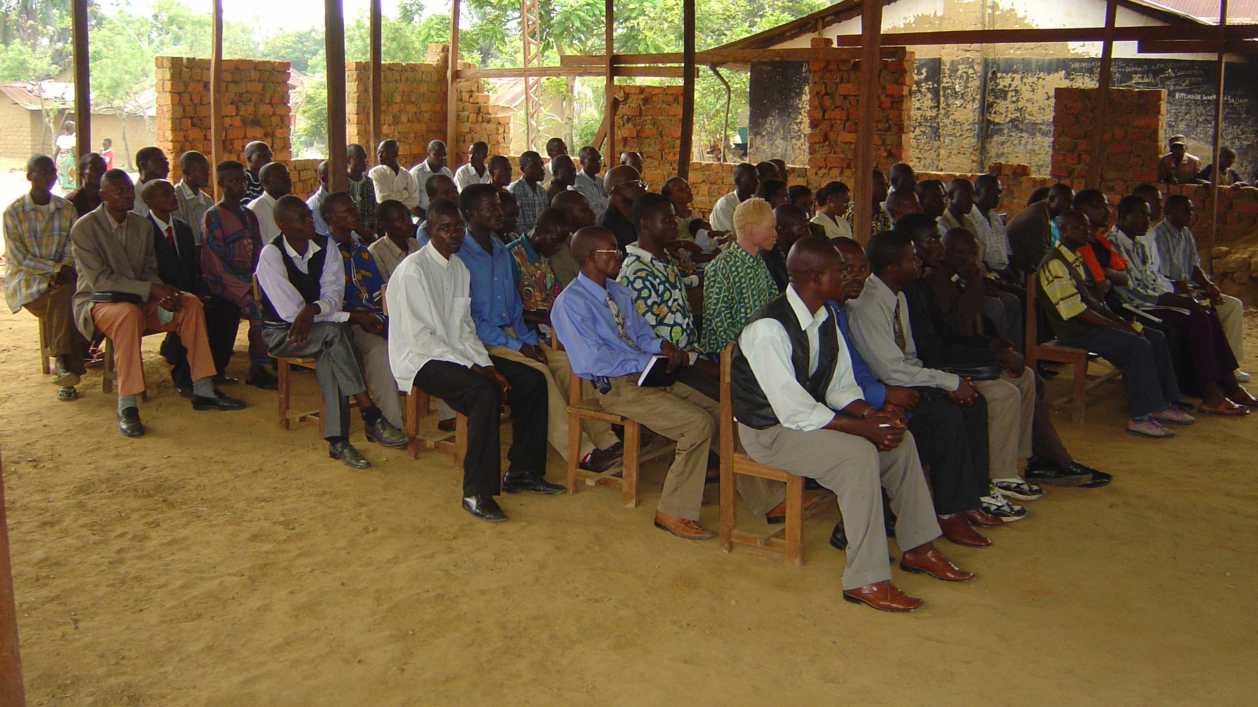 Kindu Bible School students